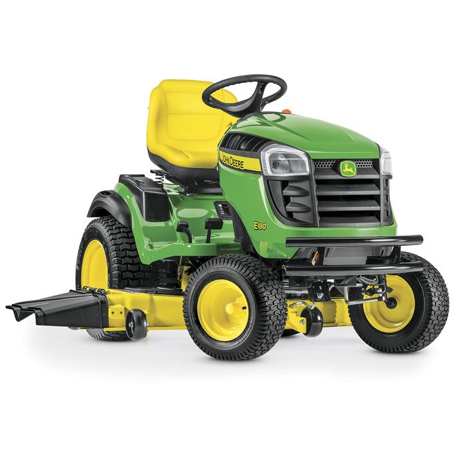Tracteur John Deere E180, 54 po, 724 cc, hydrostatique