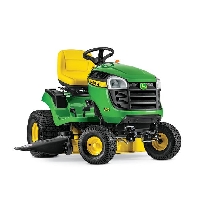 """Lawn Tractor E140 - 48"""" Deck - 22 HP V-Twin - Hydro - Green"""
