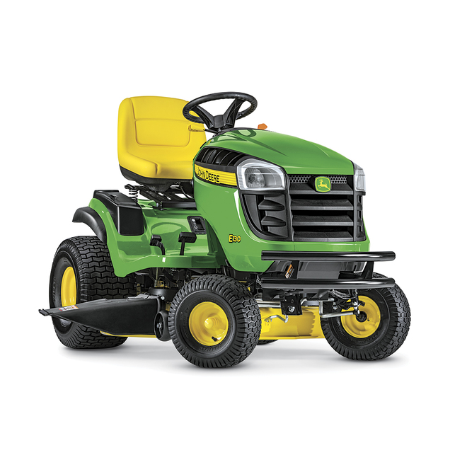Tracteur John Deere, E130 hydrostatique, 42 po, 724 cc