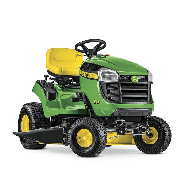 """E100 Lawn Tractor - 42"""" Deck - Green"""