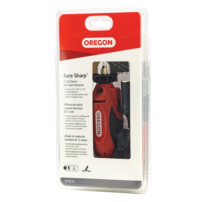 Oregon SureSharp Handheld Saw Chain Sharpener -12 V