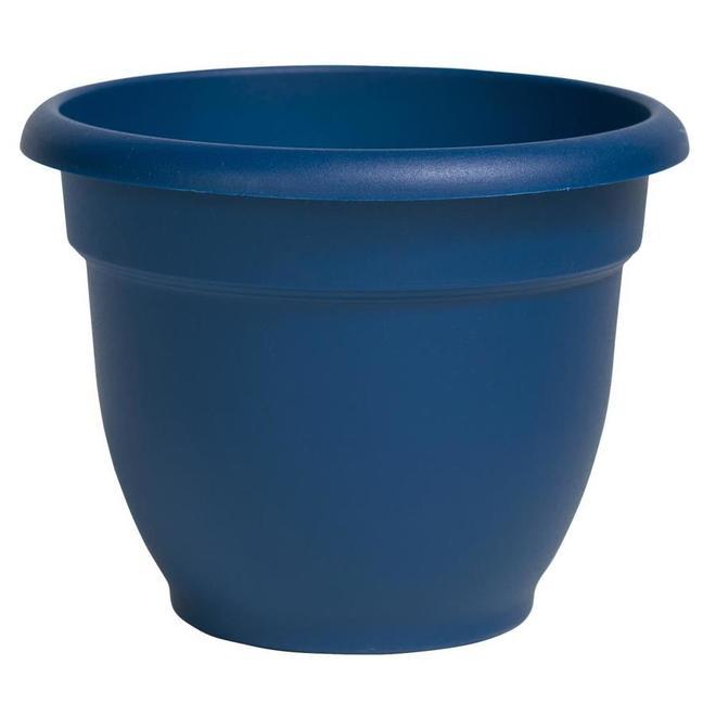 Bloem Ariana Classic Planter - Resin - 8-in - Blue