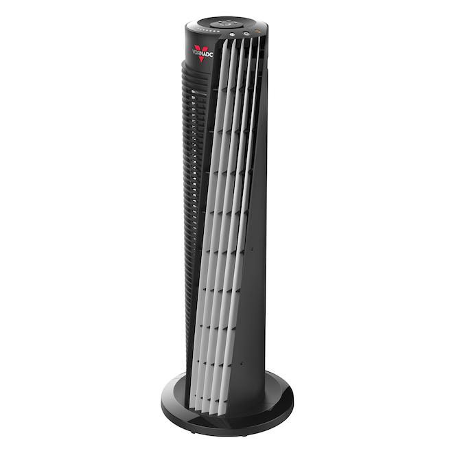 Ventilateur de tour, Vornado, plastique/métal noir