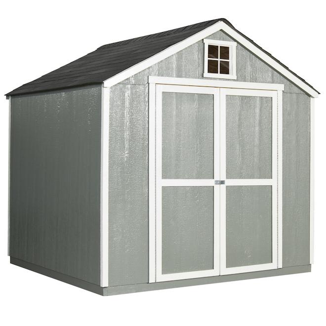 Heartland Belmont Storage Shed - 8-ft x 10-ft - Wood