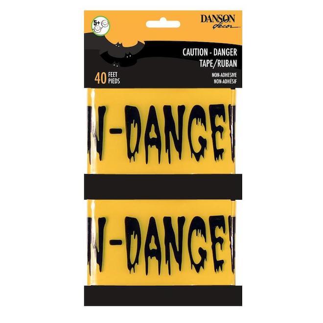 Ruban Danger, Holiday Living, 20 pi paquet de 2