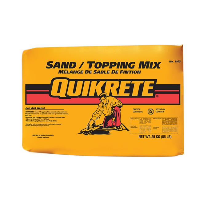 Mélange de sable de finition Quikrete(MD), 25 kg