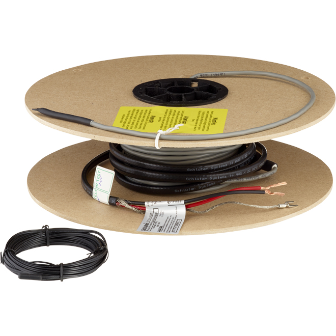 Câble chauffant pour membrane Ditra-Heat, 70,6', 240 V