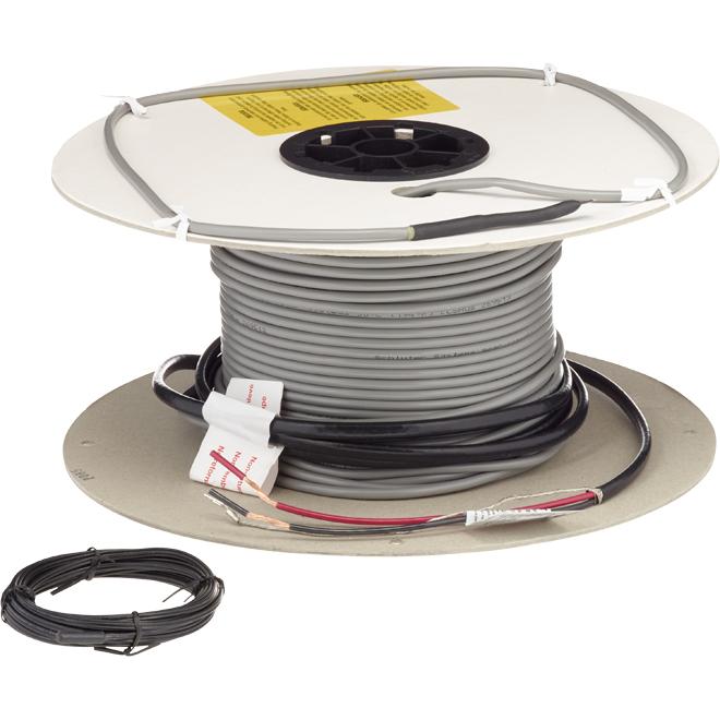 Câble chauffant pour membrane Ditra-Heat, 282,1', 240 V