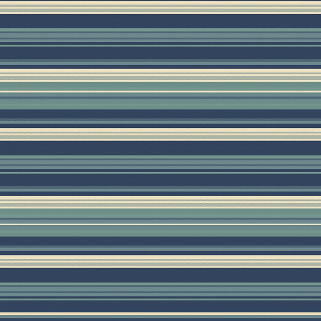 Tapis extérieur Syden Allen + Roth, polypropylène, 8 pi x 10 pi, bleu