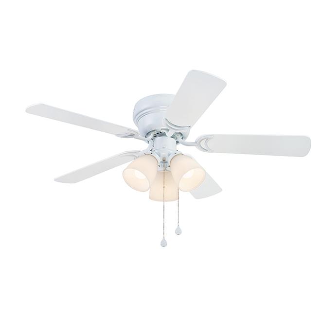 Harbor Breeze Ceiling Fan - White - 5 Blades - 42-in dia