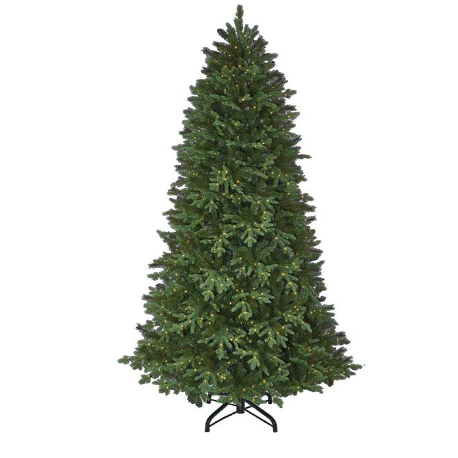 Holiday Living Illuminated Tree - Harmon - 3640 Tips - 7.5'