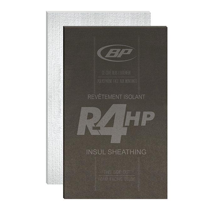 """Panneau isolant haute performance R-4, 4' x 9' x 1 1/8"""""""
