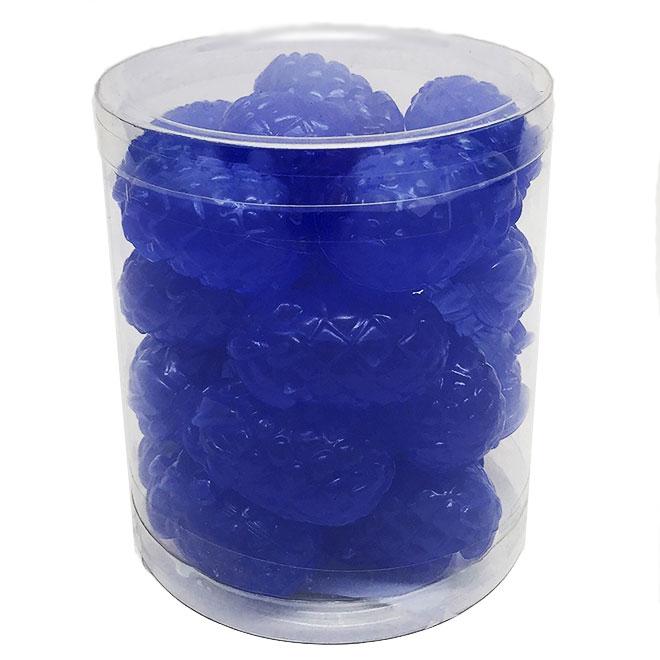 Plastic Ice Cubes - Pineapple - Blue - 24/Pack