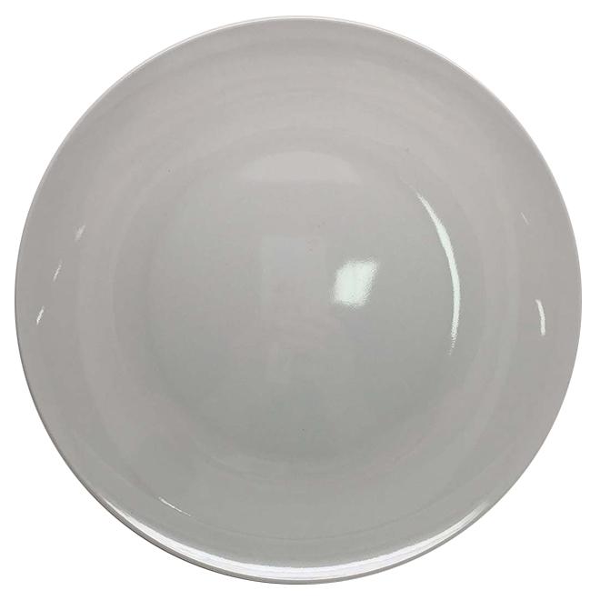 "Grande assiette, blanc, 1"" X 11"""