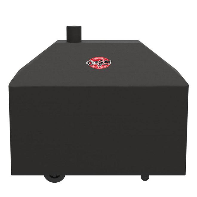 Housse pour barbecue au charbon Legacy par Char-Griller, polyester, 61 po, noir