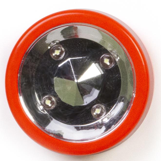 Coloured Xtreme Strobe LED Light - Orange and Silver