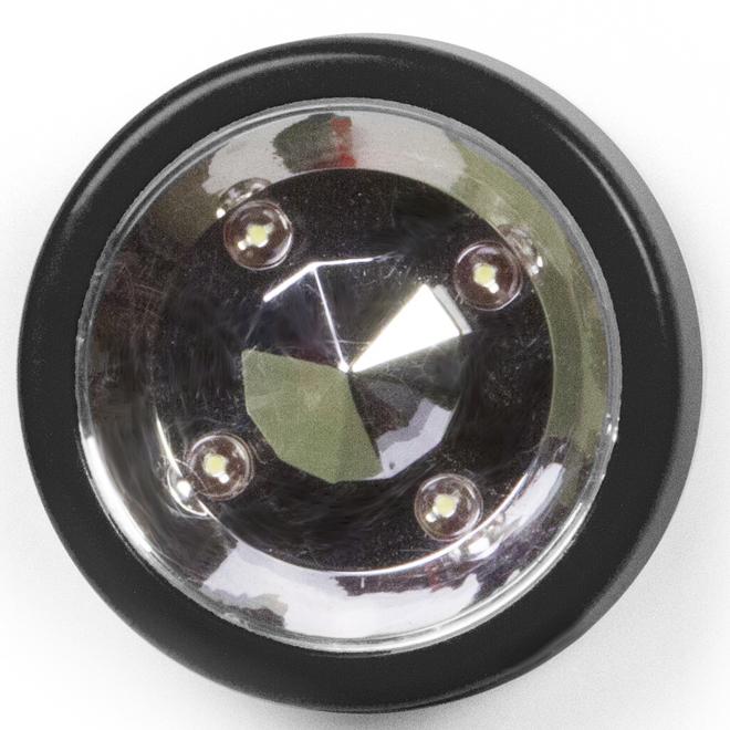 Coloured Xtreme Strobe LED Light - Black and Silver