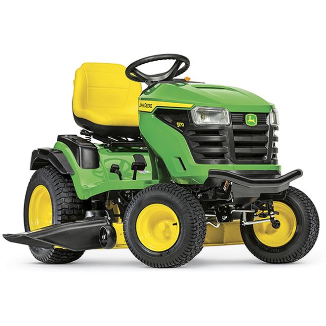 Tracteur à gazon John Deere S170, plateau de 48 po, 24 CV, 724 cc