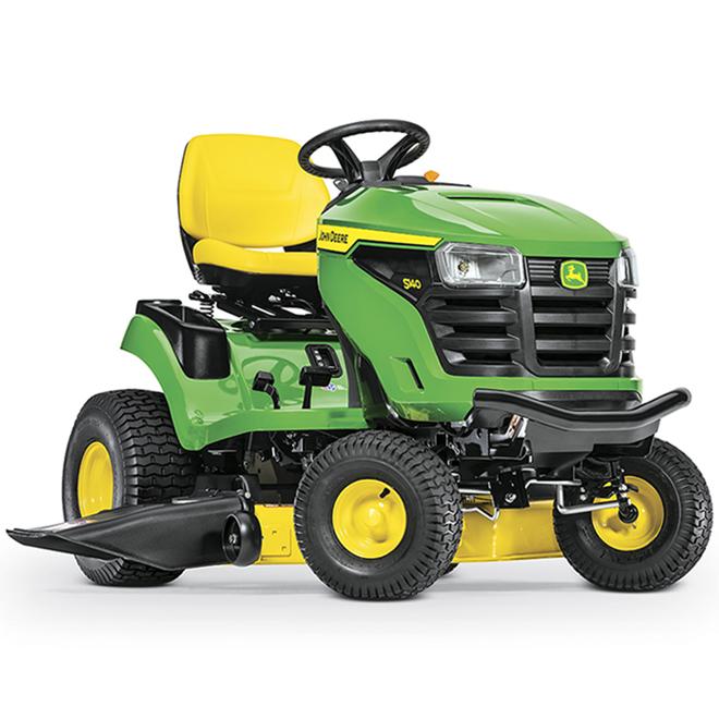 Tracteur à gazon John Deere S140, 22 CV, 48 po, 724 cc