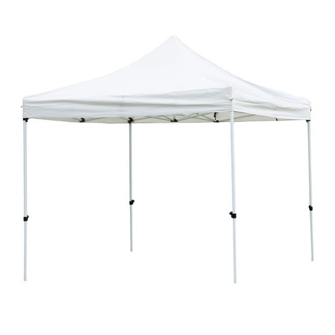 Folding Sun Shelter - Cayman - 10' x 10' - White