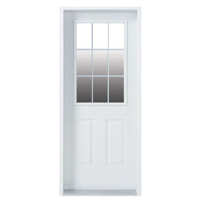 LEFT STEEL DOOR