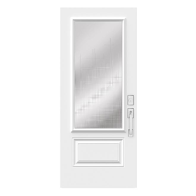 """Steel Door - 34"""" x 82 - Right - White"""
