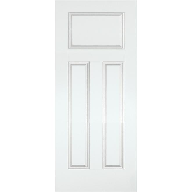 """Porte d'entrée en acier, 36"""" x 79"""", couleurs assorties"""