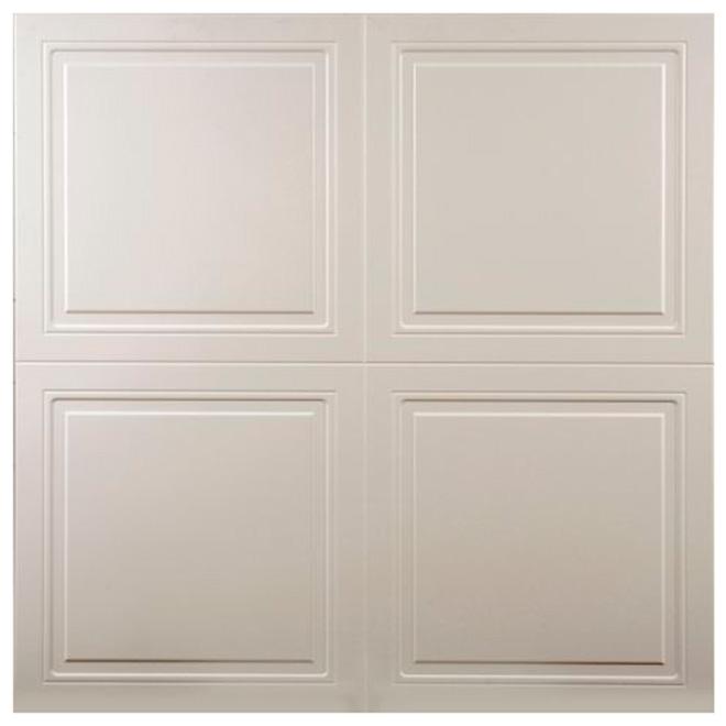 Tuile à plafond Platinum, 4' x 4', chaque