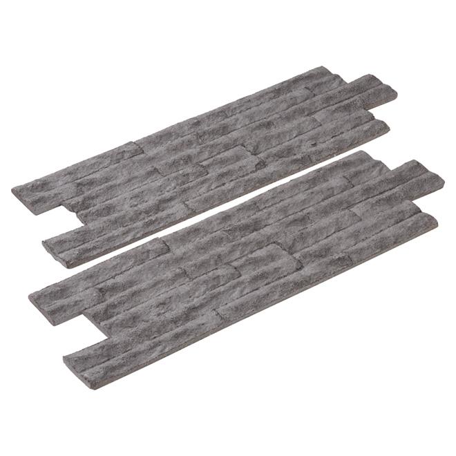 "Zephir Wall Panel - 12"" x 36"" - Grey"