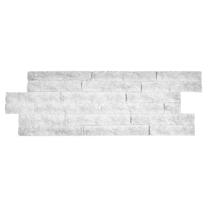 """Panneau mural Zephir, 12"""" x 36"""", blanc"""