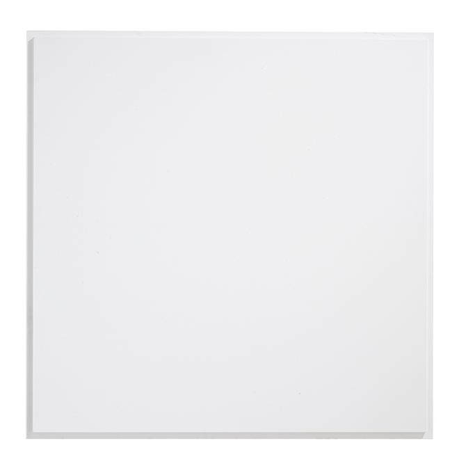 """Tuile à plafond Urbano 24"""" x 24"""", blanc"""