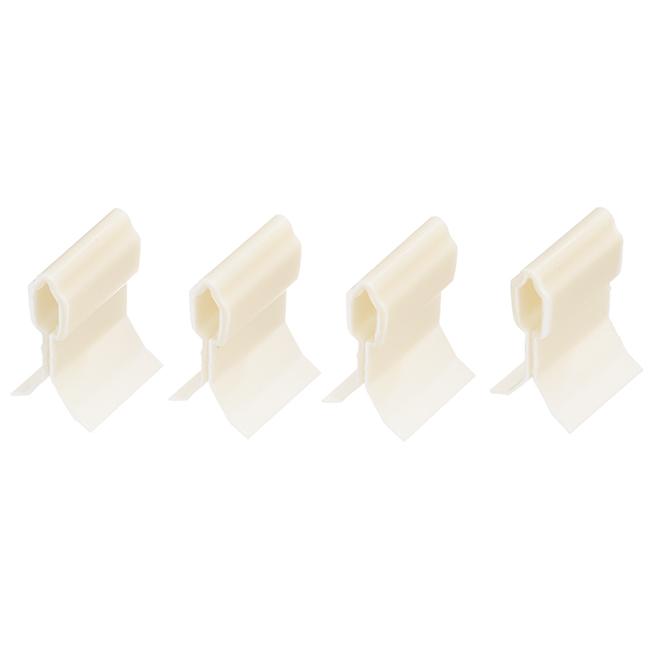 Pack of 4Retainer Clips for Ubano Tiles - White