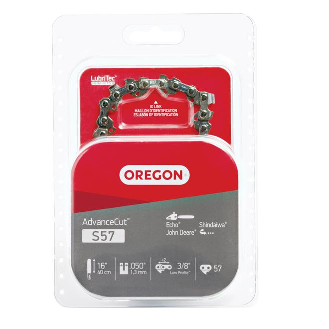 Chaîne pour scie à chaîne Oregon AdvanceCut S57, 16 po