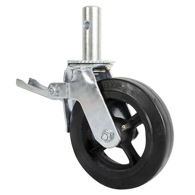 Roulette ultra-robuste 8po