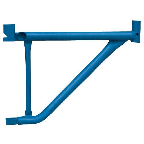 Équerre de fixation latérale MetalTech, capacité de 400 lb, bleue, acier haute résistance