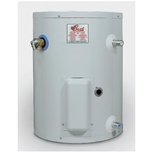 Chauffe-eau électrique 10 gal, blanc