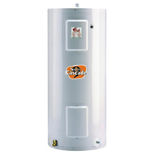 Chauffe-eau électrique 40 gal, 3000W, blanc