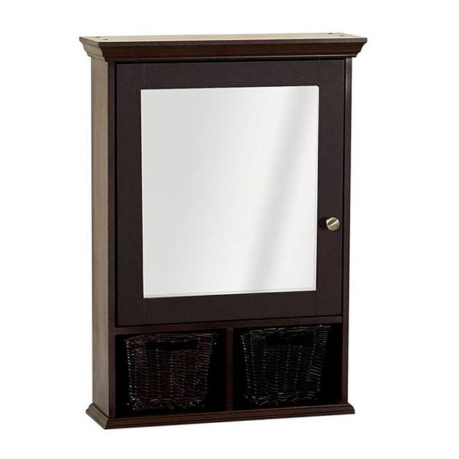 Medicine Cabinet with 1 mirror door