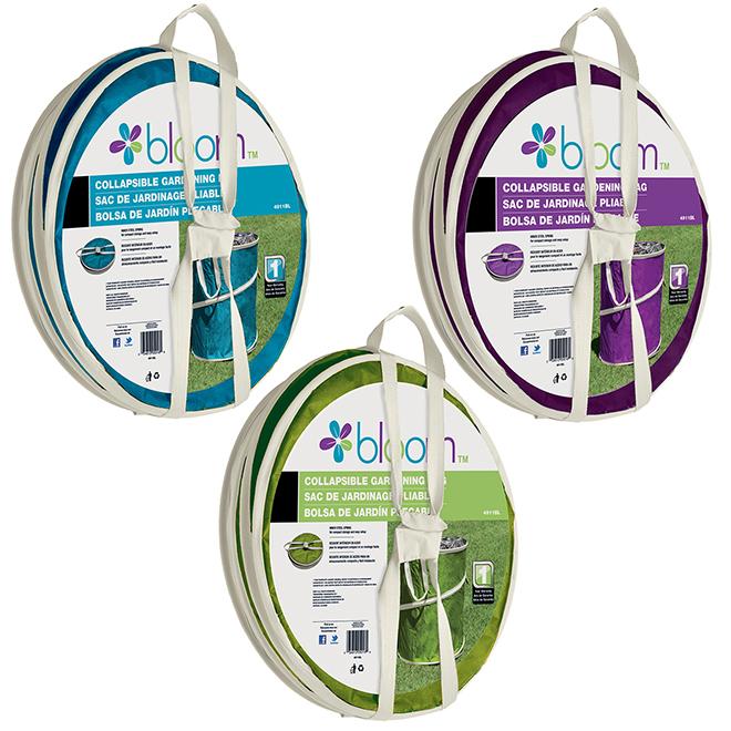 Bond Foldable Gardening Bag - 10 gal - Assorted Colours