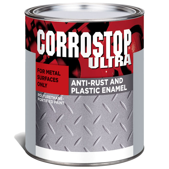 Sico - Anti-Rust Paint - Corrostop - 946 mL - Gloss Finish - Black