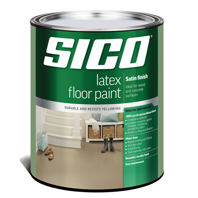 Sico - Floor Paint Base - Latex/Acrylic - 899 mL - Base 2