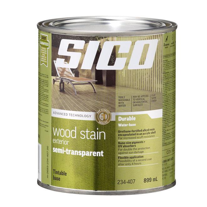 Sico Exterior Wood Stain - Semi-Transparent - Tinted Base - 899 ml