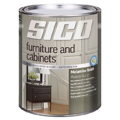SICO Furniture and Cabinets Interior Paint - 946 ml - Base 1