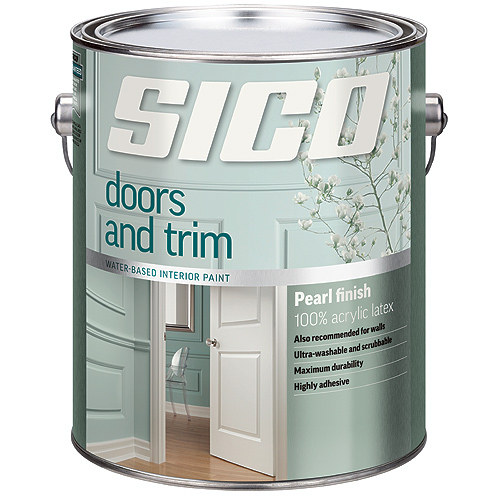 Interior Latex Paint for Doors and Trim
