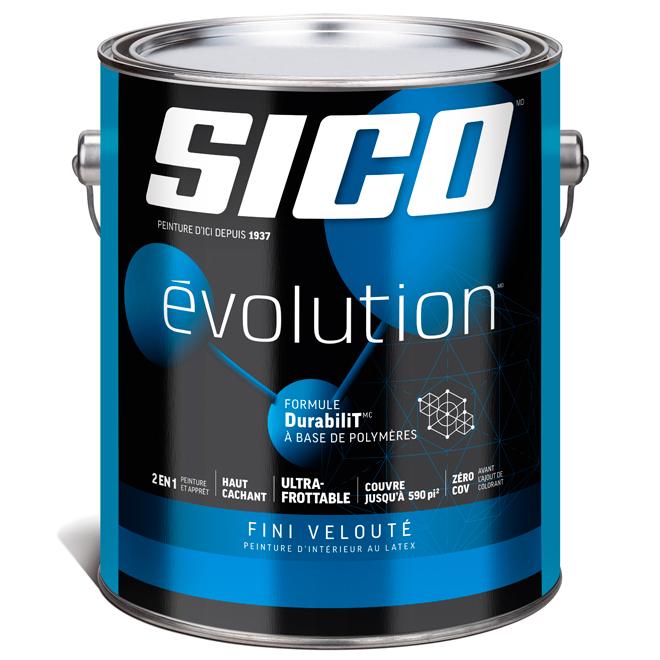 Base de peinture et apprêt Sico, base 3, 3,78 l, velouté