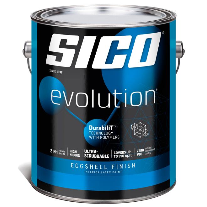 Sico Paint Base and Primer - Base 4 - 3.78 L - Eggshell