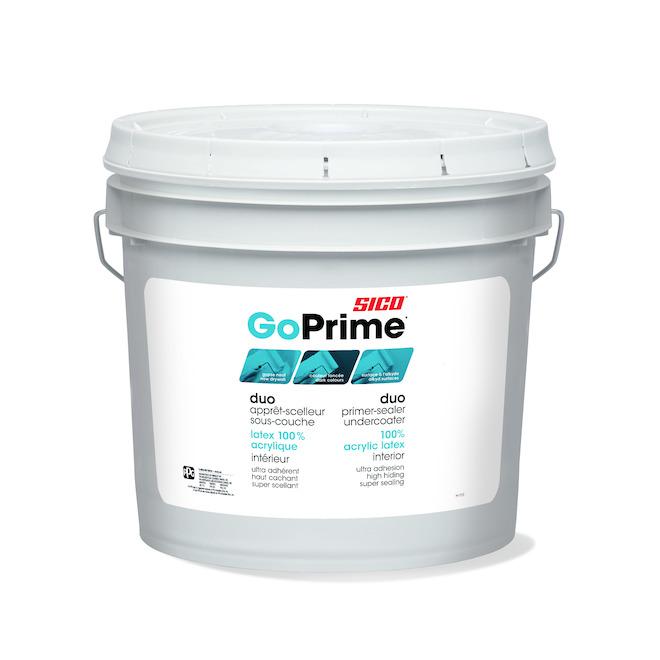Apprêt-scellant et sous-couche Sico GoPrime, 7,57 l, blanc