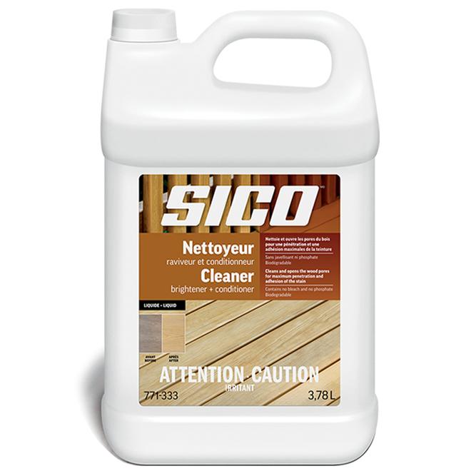 Nettoyeur-raviveur-conditionneur pour bois Sico, extérieur, 3,78 L