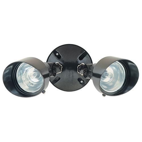 Heath Zenith 2-Light Weatherproof Lamp - Halogen - 100 W - Bronze