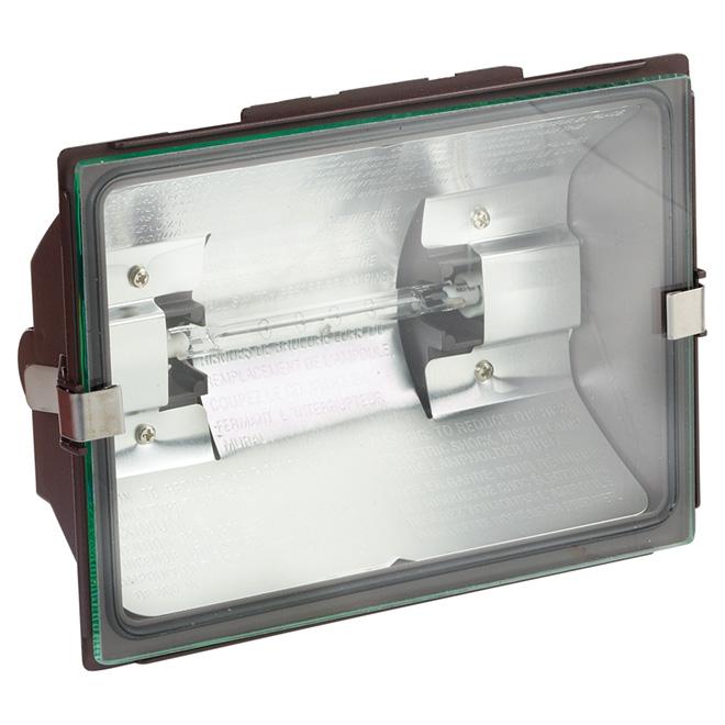 Lumière de sécurité halogène T3 sans détecteur, bronze